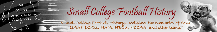 Small College Football History