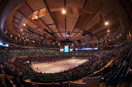 Madison Square Garden, NYC.